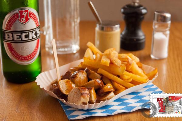 Box Currywurst + Bière au choix